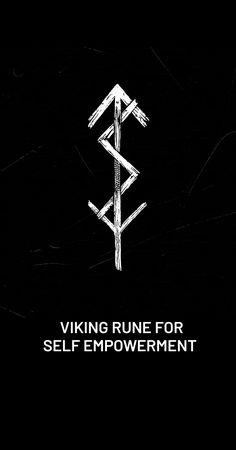 Viking Symbols And Meanings, Nordic Symbols, Rune Symbols, Viking Tattoo Symbols, Viking Tattoos For Men, Cute Tattoos, Body Art Tattoos, Hand Tattoos, Small Tattoos