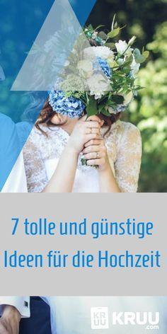 08/15 Hochzeiten waren gestern! Auf unserem Blog erhaltet ihr 7 schöne Ideen zur Hochzeit.