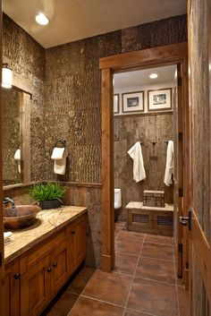 Bark Design bathroom