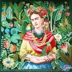 Mona Lisa, Artwork, Painting, Frida Kahlo, Green Backgrounds, Work Of Art, Auguste Rodin Artwork, Painting Art, Artworks