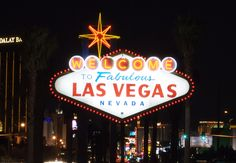 The iconic Welcome to Las Vegas sign was built in 1959.