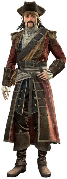 Bartholomew Roberts (1682 – 1722), born John Roberts, was a Welsh pirate and Sage, who raided...