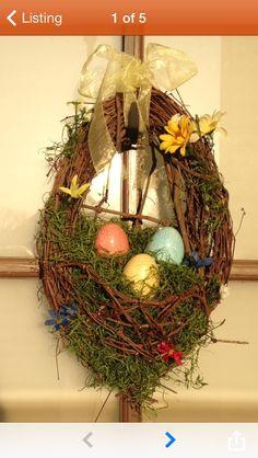 Easter Hanging Door Basket