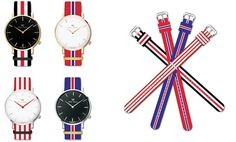 Exchangeable fashion straps make the watches  unstoppable charming lifestyle…