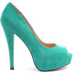Tiffani blue High Heels