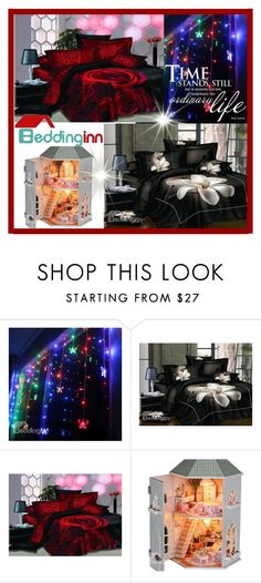 """""""Beddinginn Sale 2"""" by malasirena989 ❤ liked on Polyvore featuring Dollhouse"""