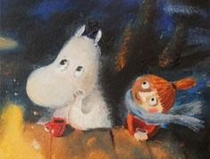 Hedgehog Art, Kids Room Paint, Tove Jansson, Moomin Valley, Comic, Children's Book Illustration, Illustrations, Little My, Drawing Reference