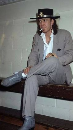 Stevie Ray Vaughn; What do you mean I can't smoke in here?!