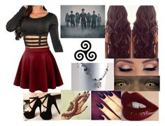 """""""TEEN WOLF is BACK/June29"""" by francheskagilinsky74 ❤ liked on Polyvore featuring Girlactik, LE3NO and Charlotte Tilbury"""