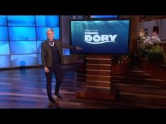 Ellen Announces Finding Dory