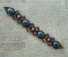 Linda's Crafty Inspirations: Playing with my Beads...Lucy Bracelet with Candy…