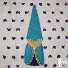 Gnome Applique Block | Wee Folk Art