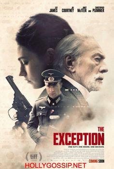 The Exception (2017) movie poster featuring Lily James Jai Courtney http://ift.tt/2p1jhmb