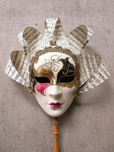 How To Decorate A Mask Entrancing Mask White Mask  Plain Masks To Decorate Paint Colour Glitter Review