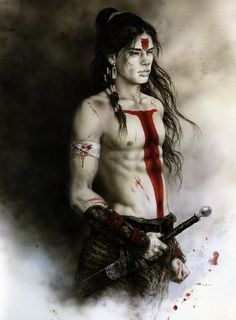 Luis Royo - Tsuchi (Earth) http://www.pinterest.com/101kirstyleigh/character-inspiration/