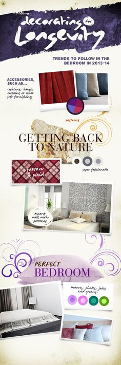 Decorating for longevity: trends to follow in the bedroom in 2013-14 from Time 4 Sleep