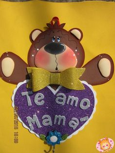 Tole Decorative Paintings, Candy Bouquet, Mom Day, Foam Crafts, Topiary, Cute Art, Scrapbook Pages, Baby Shower, Valentines