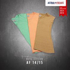 T-shirts Colors #befreak