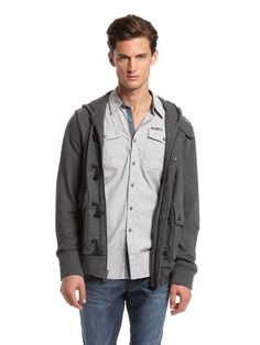 DKNY Jeans French Terry Toggle Hoodie