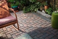 Adorable Paver Patio Pattern Ideas For