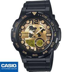 421191e4c17 Detalles de CASIO AEQ-100BW-9AVEF⎪AEQ-100BW-9A®️ORIGINAL⎪✈️ENVIO  CERTIFICADO⎪DORADO⎪💦100M