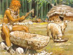 Les temps prehistoriques - Pierre Joubert