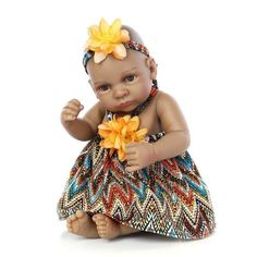 Mini Reborn Baby Doll Black Skin Girl And Boy Twins Full Silicone Real Touch Ethnic Baby Alive Dolls Kids Birthday Gifts Reborn Baby Girl, Reborn Babypuppen, Reborn Baby Dolls, Baby Boy, Baby Doll Toys, Baby Alive Dolls, Cute Baby Dolls, African American Baby Dolls, African American Babies