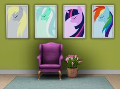 My Sims 3 Blog: My Little Pony Posters By Sink0rsim