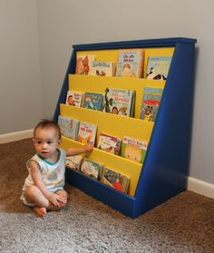 Wood Plans for Toddler Bookcase