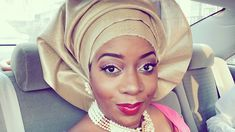 I had a wedding today and I tied my Nigerian Gele (head gear). It is quite easy to do, you only need to practice and you'll get it! Please Click LIKE, SHAR. African Hats, African Attire, African Wear, African Women, African Fashion, Nigerian Fashion, African Style, African Beauty, Women's Fashion