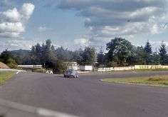 """The track from the driver's view in the early 1970s – """"Südkehre"""""""