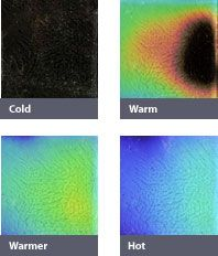shower tiles that change color as they heat up from hot water! Add to cart! Northern Lights Color Variations