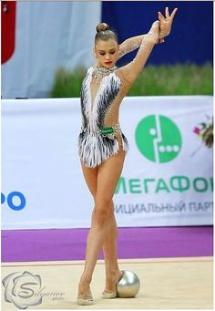 leo from Blesk art studio (gymnast: Aleksandra Soldatova)
