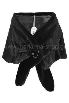 Μαύρη γούνινη εσάρπα Faux Fur, Blazer, Coat, Jackets, Shopping, Down Jackets, Sewing Coat, Blazers, Peacoats