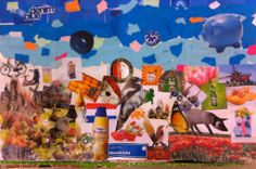 Typical Dutch collage Made by a student of  Mariek van Nierop art teacher
