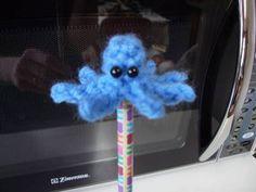 Free Octopus Pencil Topper Crochet Pattern