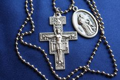 San Damiano St Francis of Assisi Necklace by faithsymbol on Etsy