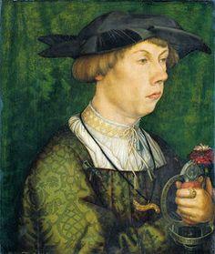 Hans Holbein der Ältere, Bildnis eines Angehörigen der Augsburger Familie Weiß (Augsburg 1522, Städel, Frankfurt)