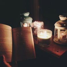 my kind of night  #reading #candles #Padgram
