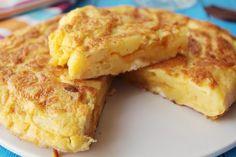 Las recetas de Comiendo Salud: Tortilla de coliflor