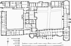 Apethorpe Hall Ground Floor Plan (1000×659) - inspiration for Willowhaven in 'With Love in Sight' by Christina Britton