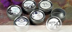 Wedding Favor Candy Tins (personalized)