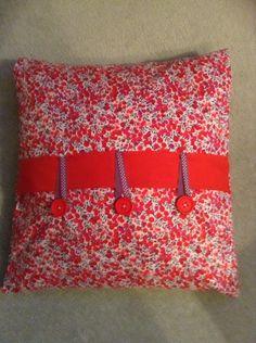 Liberty print cushion