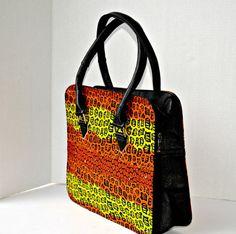 African Print Bag, The Zepuri Bag