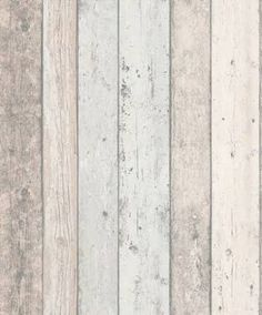 bleached wood effect wallpaper - albany wallpapers