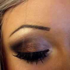 brown Smokey eyes (: