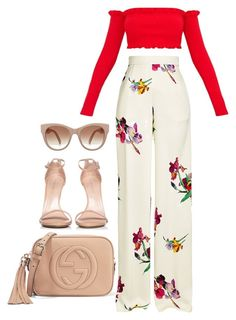 """""""Untitled #352"""" by the-a-way5 on Polyvore featuring Etro, Stuart Weitzman and Gucci"""