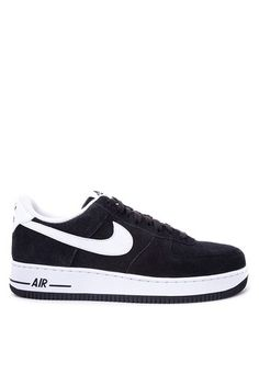 detailed look 4892b ea14f Nike black and white Men s Nike Air Force 1  07 Shoes NI126SH62OZHPH 1 Nike  Air Force