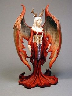 Amy Brown The Seeress Fairy Statue Figurine Faery NEW Wicca Witch in Collectibles, Fantasy, Mythical & Magic, Fairies, Cards Fairy Statues, Fairy Figurines, Dragon Figurines, Beautiful Fantasy Art, Beautiful Fairies, Amy Brown, Brown Art, Winter Fairy, Unicorns And Mermaids