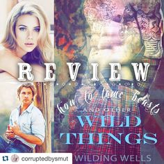 One day and my book is live! Seeing reviews like this make me giddy  grateful! Thank you love #Repost @corruptedbysmut   REVIEW  How To Tame Beasts And Other Wild Things by @awildingwells  Rating: .5 stars!  What an amazing fun and sexy read!! Boy oh boy did I ever fall in love this these characters. I want more Balthazar!! Oh how I loved that rugged and tatted loyal sweet sexy beast of a man. He was totally an alpha male and I loved him for it. And Matilda! I swear she is like my new quirky…